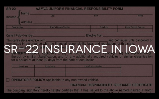 sr22 insurance in iowa