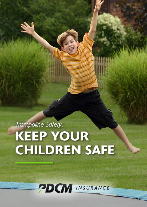 Keeping Kids Safe On The Trampoline