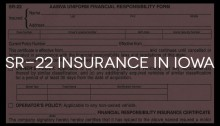 sr22 insurance iowa