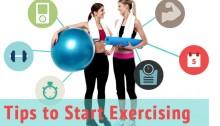 tips to start exercising